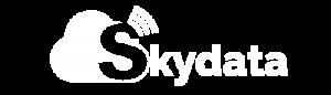 Skydata_white_logo